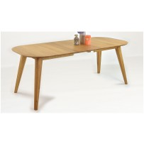 Dubový stôl do jedálne OTAWA (rozkladací stôl)