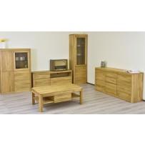 Obývačka z dubového masívu BOZEN XL
