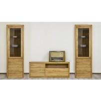 Moderná obývačka z dubového masívu BOZEN L