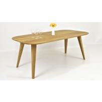 Dubový stôl do jedálne OTAWA (160 x 90 al. 200 x 100 cm )