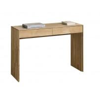 Dubový moderný pc stolík