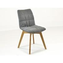 Dubová stolička Phill - šedá / doručenie do Vianoc /