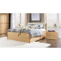 Manželská posteľ s úložným priestorom