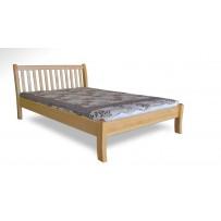 Pevná drevená posteľ z masívu 140 x 200