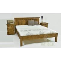 Manželská posteľ z dreva 160 x 200 (LUX)