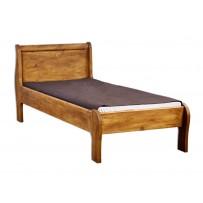 Masívna posteľ voskovaná  D 160