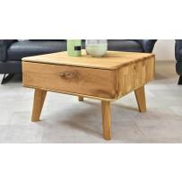 konferenčný stolík so šuplíkom dub masív