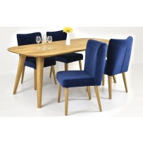 Retro jedálenský stôl a stoličky