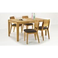 Moderný jedálenský set pre 4-8 osôb (rozkladací stôl)