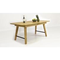 Rozkladací stôl do jedálne dub , masív