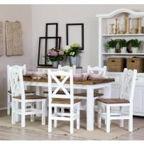Drevený stôl a stoličky do jedálne