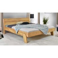 Masívna drevená dubová posteľ Siena (160,180)