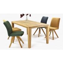 Moderný stôl do jedálne a pohodlné stoličky
