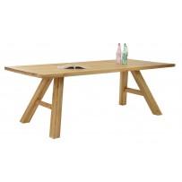 Dubový stôl do jedálne 200 x 100
