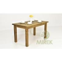 Vidiecky jedálenský stôl z masívu / 140,160,180, 200 cm /