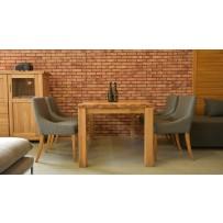 Drevený jedálenský stôl a stoličky