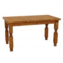 Jedálenský stôl z masívu A 140 x 80