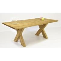 Dubový stôl do jedálne 100 % masív