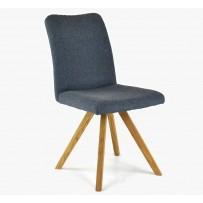 Jedálenská stolička Paris tmavo modrá