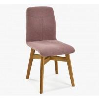 Pevná stolička , lososová farba novinka 2019
