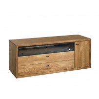 TV komoda z dreva do obývačky
