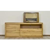 Dubová televízna komoda, typ 372