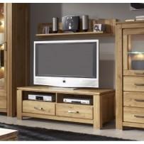 Televízna komoda do obývačky  (dubový masív - nová línia)
