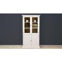 Drevená vitrína so sklom do obývačky - FRANCÚZSKY NÁBYTOK