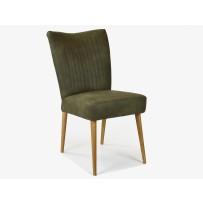 Retro stolička VALENCIA , oliva