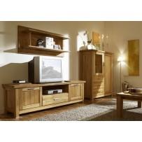 Nábytok do obývačky - dub masív