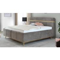 Luxusná boxspring čalunená posteľ ANIKA