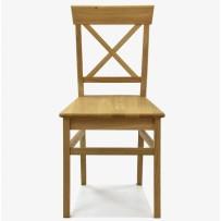 Jedálenska dubová stolička Country