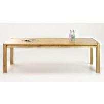 Drevený dubový stôl do jedálne zlatko 240 x 100 cm