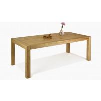 Drevený dubový stôl do jedálne Dennmark / 160 x 90, 220 x 100  /