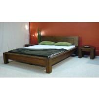 Luxusná manželská posteľ Rossi - voliteľná farba 140