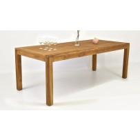 Teakový záhradný stôl 220 x 100