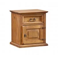 Nočný stolík z dreva