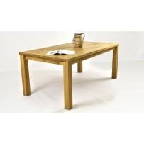 Drevený dubový stôl do jedálne 180 x 76 x 100 , alexandra 61