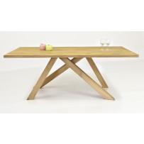 Jedálenský stôl z dubu Karol 200 x 100 redizajn
