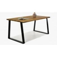 Dubový stôl LOFT ( 160 x 90 cm) AKCIA