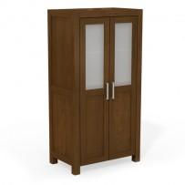 Moderná šatniková skriňa - vešiaková 2 dverová