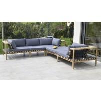 záhradné sedenie modulovateľné