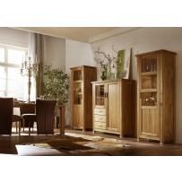 Obývacia stena z dreva