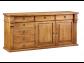 Drevená komoda lakovaná - premiová kolekcia nábytku