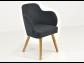 Antracitová stolička