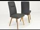 Jedálenský stôl z dubu + kožené stoličky
