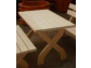 táhradný stol drevený