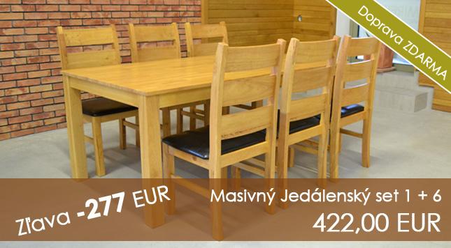 Jedálenské stoly (pre 6 osôb)